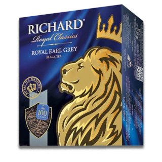 ЧАЙ RICHARD, ROYAL EARL GREY черный,
